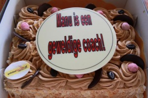 taart voor manu